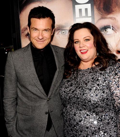 «Поймай толстуху, если сможешь». Джейсон Бейтман и Мелисса МакКарти на премьере фильма «Поймай толстуху, если сможешь!» в Лос-Анджелесе, Калифорния. Фото: Kevin Winter/Getty Images