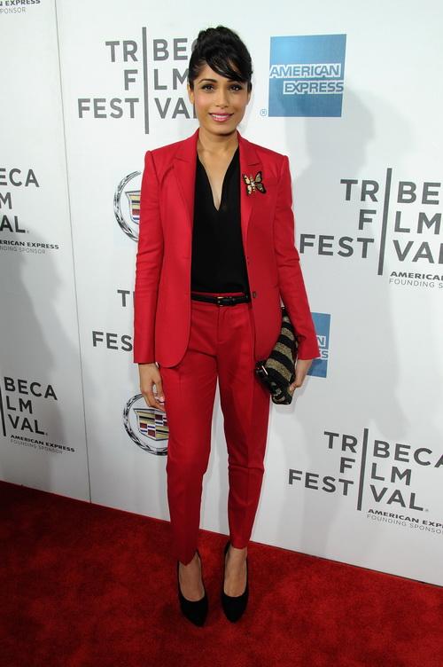 «Красавица из трущоб». Актриса Фрида Пинто на кинофестивале в Нью-Йорке. Фото: Craig Barritt/Getty Images