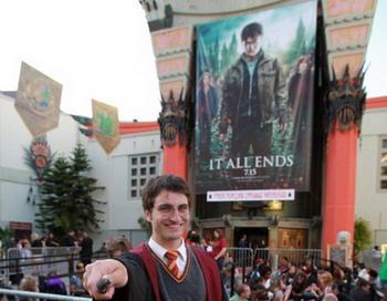 Премьера последней части франшизы о молодом волшебнике Гарри Поттере Harry Potter and the Deathly Hallows - Part 2  14 июля 2011 года в Лос-Анджелесе, штат Калифорния. Фото: David Livingston/Getty Images.