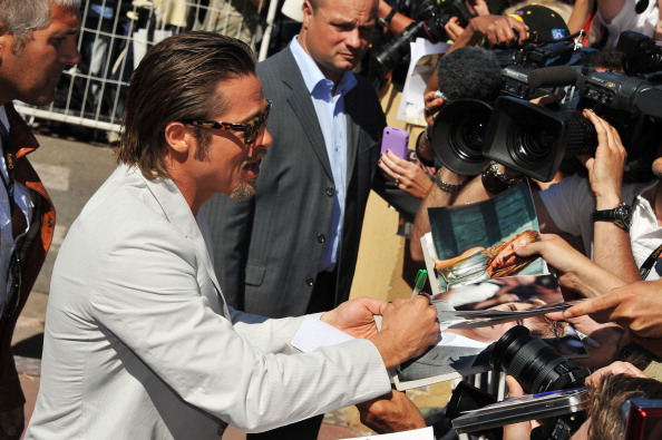 Брэд Питт, 16 мая 2011, Канны, Франция. Фото:  Pascal Le Segretain/Getty Images