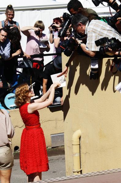 Джессика Честейн, 16 мая 2011, Канны, Франция. Фото:  Pascal Le Segretain/Getty Images