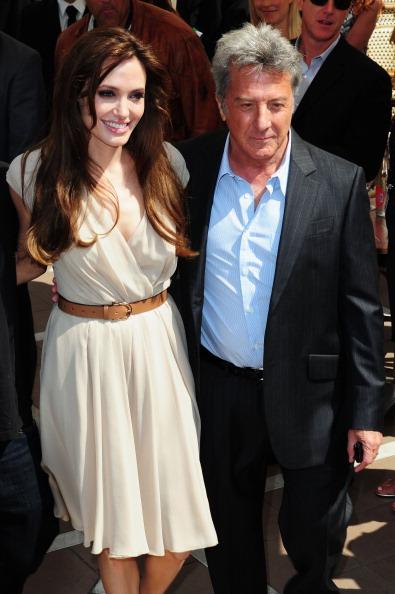 Анджелина Джоли и Дастин Хоффман  в Каннах: фотосессия