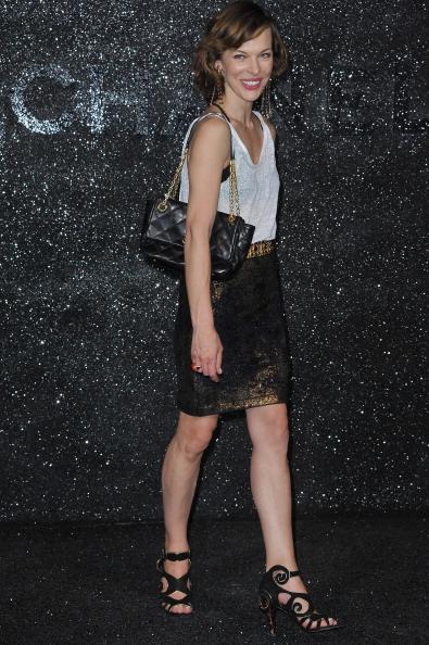 Милла Йовович  на Неделе высокой моды в Париже, 5 июля 2011. Фото: Pascal Le Segretain/Getty Images