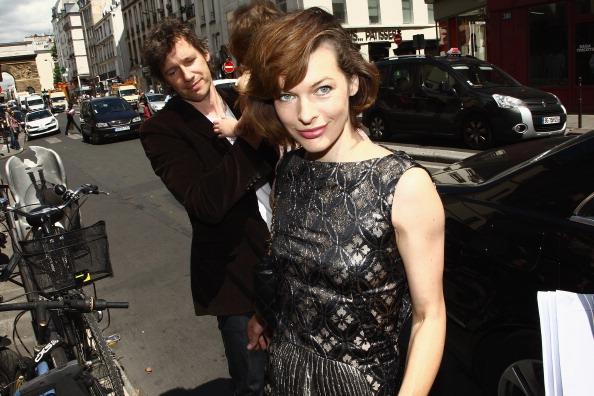Милла Йовович  на Неделе высокой моды в Париже, 5 июля 2011. Фото: Julien M. Hekimian/Getty Images