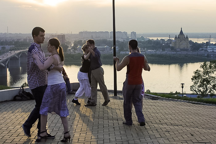 Танго под открытым небом. Фото: Юлия Карпова/Великая Эпоха (The Epoch Times)
