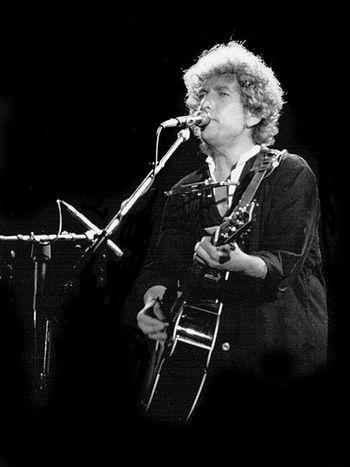 Боб Дилан. Фото с сайта wikimedia.org