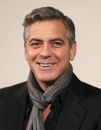 «Охотники за сокровищами». Джордж Клуни на премьере фильма «Охотники за сокровищами» в Лондоне. Фото: Chris Jackson/Getty Images