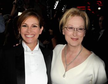 «Август». Джулия Робертс и Мэрил Стрип на премьере фильма «Август» в Лос-Анджелесе. Фото: Kevin Winter/Getty Images