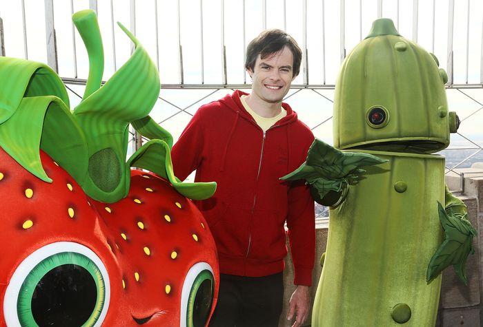 «Облачно ...2: Месть ГМО». Билл Хейдер (Флинт) на премьере анимационного фильма «Облачно ...2: Месть ГМО» в Нью-Йорке. Фото: Astrid Stawiarz/Getty Images