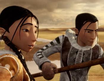 «Сарила: Затерянная земля». Кадр из анимационного фильма. Фото с сайта kino-teatr.ru