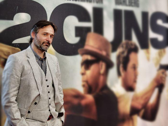 «Два ствола». Режиссёр Бальтазар Кормакур на премьере фильма «Два ствола» в Нью-Йорке. Фото: Neilson Barnard/Getty Images