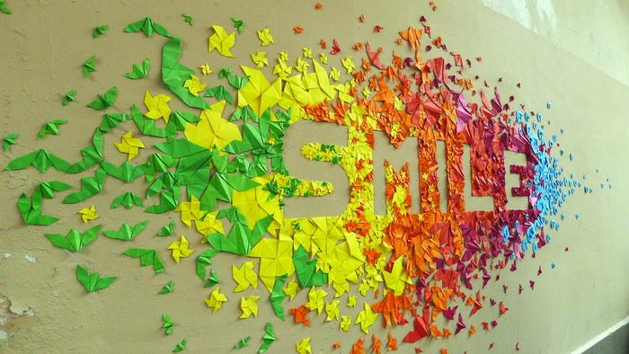 Удивительные оригами-скульптуры. Фото: mademoisellemaurice.com