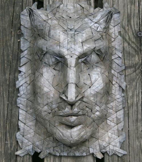 Удивительные оригами-скульптуры. Фото: joelcooper.wordpress.com