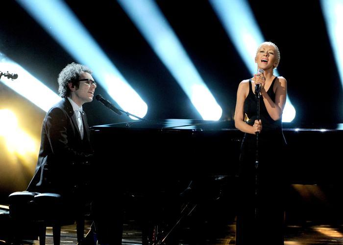 Кристина Агилера на церемонии вручения премии American Music Awards 24 ноября 2013 года в Лос-Анджелесе. Фото: Kevin Winter / Getty Images