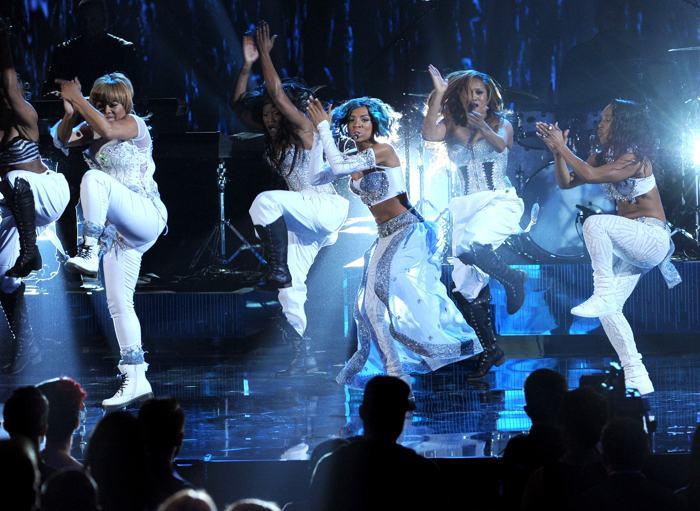 Лиа Мама на церемонии вручения премии American Music Awards 24 ноября 2013 года в Лос-Анджелесе. Фото: Kevin Winter / Getty Images