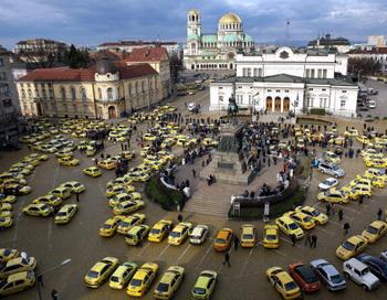 София. Болгария. Фото: BORYANA KATSAROVA/AFP/Getty Images