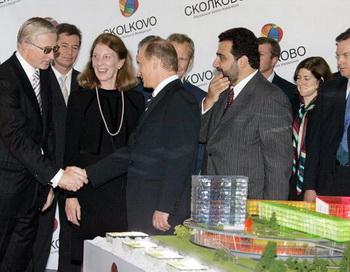 Детище президента Медведева инноград «Сколково» будут скорей всего строить иностранные компании. Фото: SERGEI ZHUKOV/AFP/Getty Images