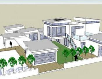 Одна из особенностей выставки  «Дом Мечты-2010», инновационное экологичное  строительство домов  с модульными технологиями. Фото: Любезно предоставлено Национальной выставкой товаров для дома