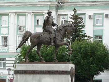 Памятник князю Михаилу Ярославичу Тверскому в Твери. Фото: virtualrm.spb.ru