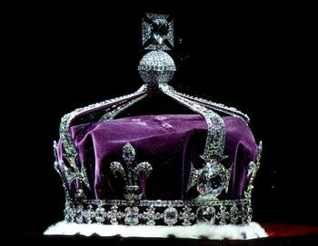 Легендарный Кохинор ( Коинур) - кровавый бриллиант английской короны. Фото: eveinternet.ru