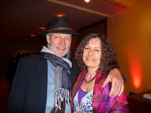 Жиль и Катрин Эггер на шоу Shen Yun в Театре Болье в Лозанне, в  Швейцарии, в субботу 16 апреля 2011 г.