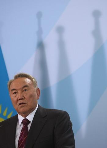 Президент Казахстана Нурсултан Назарбаев. Фото: Sean Gallup/Getty Images