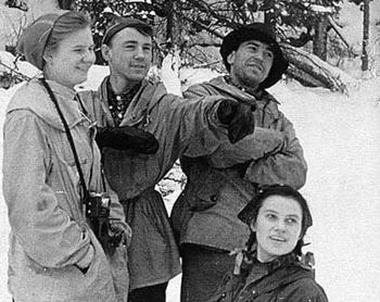 Снимок с плёнки туристической группы Дятлова. Фото: nashural.ru