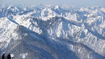 Австрийские Альпы отрезаны от остальной части страны. Фото: CHRISTOF STACHE/AFP/Getty Images