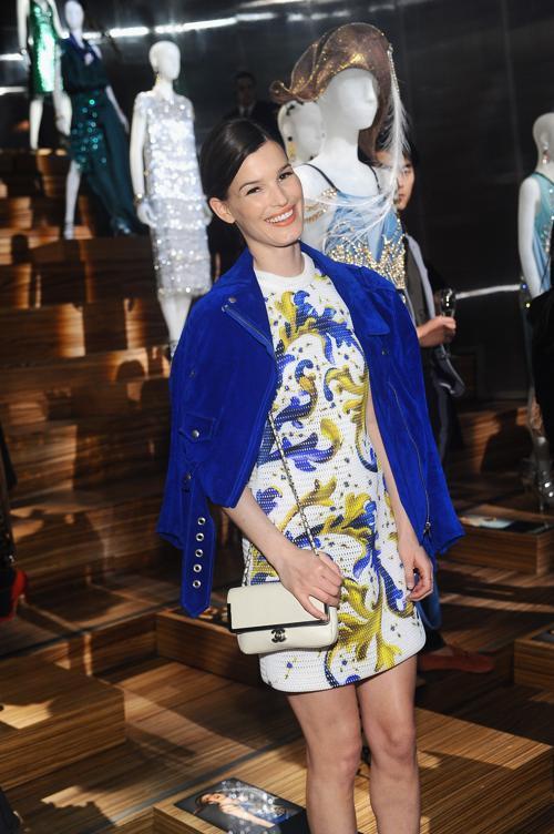 Ханнели Мустапарта на выставке коллекции Миучча Прада к фильму «Великий Гэтсби». Фото: Stefanie Keenan/Getty Images for Prada
