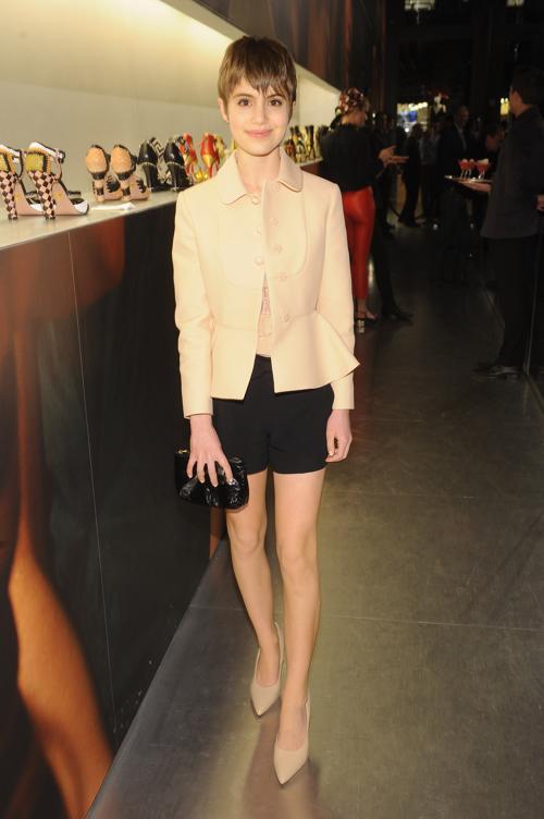 Актриса Cами Гейл на выставке коллекции Миучча Прада к фильму «Великий Гэтсби». Фото: Jamie McCarthy/Getty Images for Prada