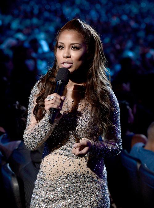 Певица Keshia Chante на церемонии вручения премии BET Awards в Лос-Анджелесе 13 июня 2013 года. Фото: Kevin Winter/Getty Images for BET