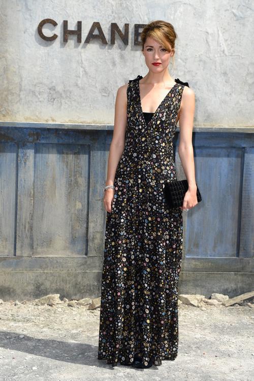 Роуз Бирн на показе новой коллекции Chanel в Париже 2 июля 2013 года. Фото: Pascal Le Segretain/Getty Images