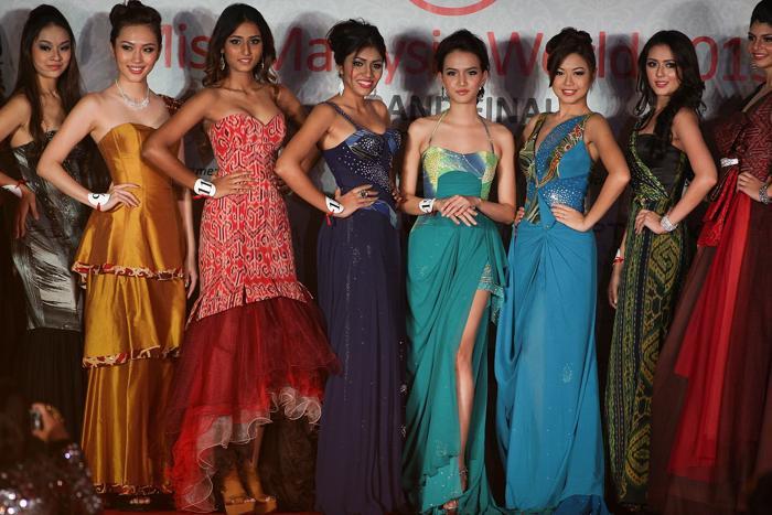 Конкурс красоты определил «Мисс мира Малайзия 2013» 2 августа 2013 года в Куала-Лумпуре. Фото: Rahman Roslan/Getty Images