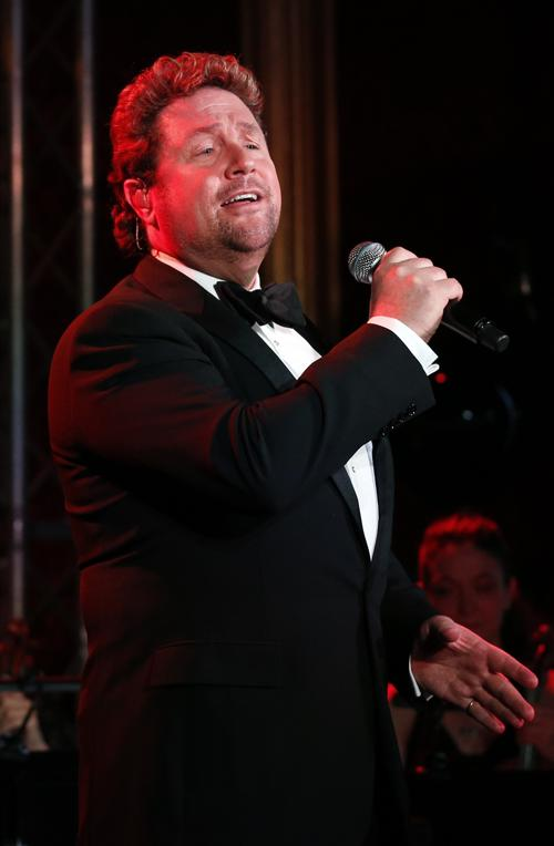 Майкл Болл выступает на приёме во дворце Сент-Джеймс. Фото: Jonathan Brady - WPA Pool/Getty Images