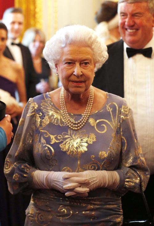 Королева Великобритании Елизавета II на приёме во дворце Сент-Джеймс. Фото: Jonathan Brady - WPA Pool/Getty Images