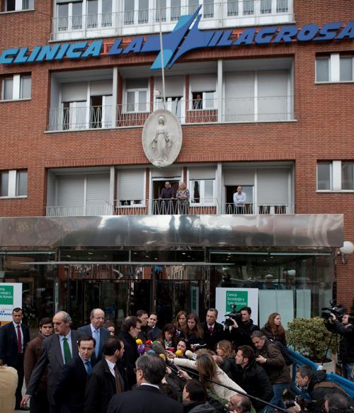 Клиника La Milagrosa 4 марта 2013 года. Фото: Pablo Blazquez Dominguez/Getty Images