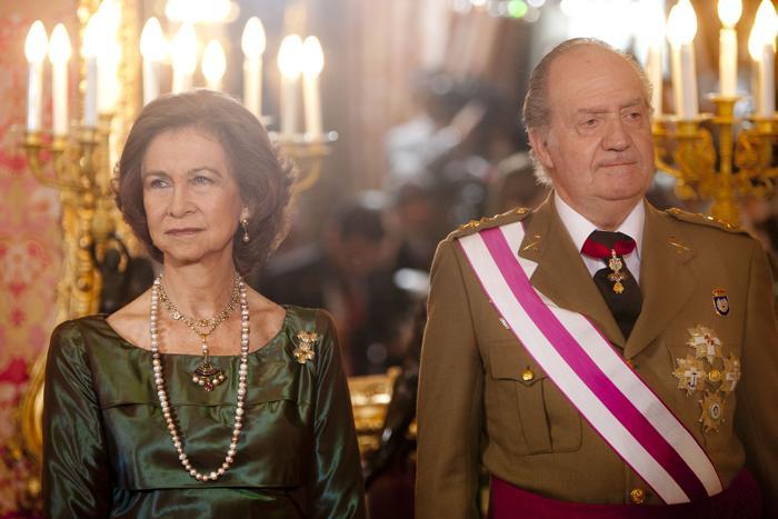 Король Испании Хуан Карлос I. Фото: Eduardo Parra/Getty Images