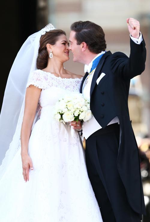 Принцесса Швеции Мадлен вышла замуж за американского бизнесмена Кристофера ОНила. Фото: Andreas Rentz/Getty Images