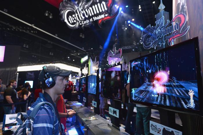На выставке E3 11 июля 2013 года. Фото: Alberto E. Rodriguez/Getty Images