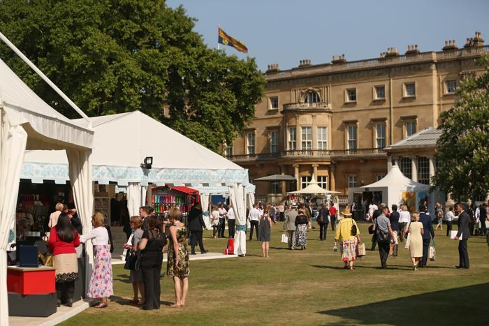Коронационный фестиваль в саду Букингемского дворца 11 июля 2013 года. Фото: Oli Scarff/Getty Images