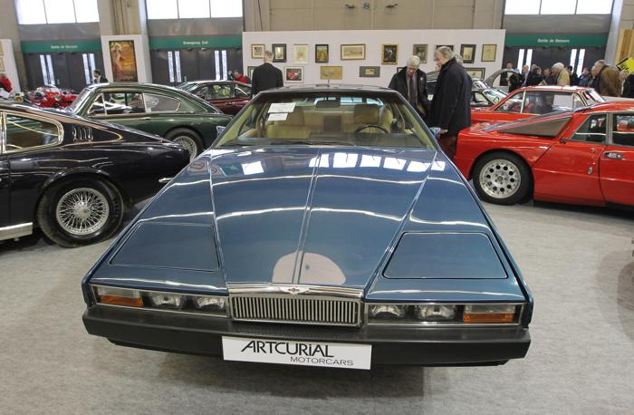 Aston Martin Lagonda. Фото: PIERRE VERDY/AFP/Getty Images
