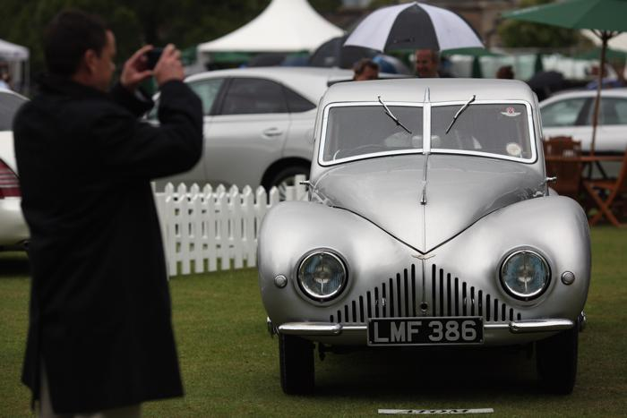 Классический автомобиль Aston Martin. Фото: Dan Kitwood/Getty Images