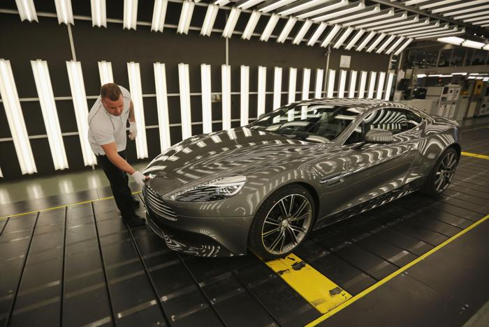 Aston Martin Vanquish. Фото: Christopher Furlong/Getty Images