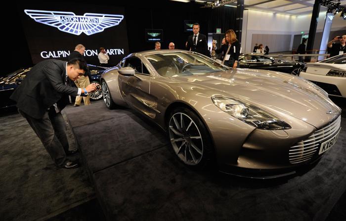 Aston Martin One-77. Фото: Kevork Djansezian/Getty Images