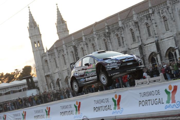 Евгений Новиков стал четвёртым в ралли Португалии. Фото: Massimo Bettiol/Getty Images