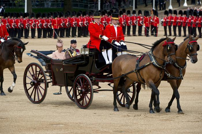 Принц Уэссекса Эдвард с женой графиней Уэссекса Софи. Фото: Bethany Clarke/Getty Images