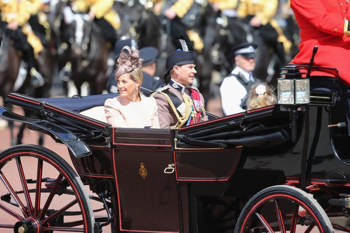 Принц Уэссекса Эдвард с женой графиней Уэссекса Софи. Фото: Chris Jackson/Getty Images