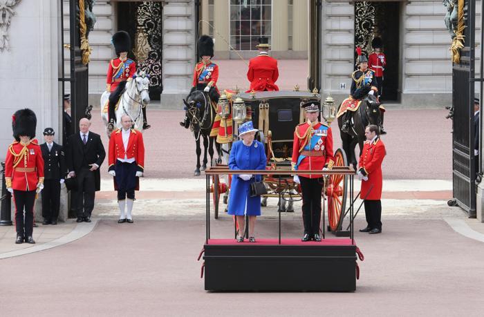 Церемония празднования дня рождения королевы Великобритании Елизаветы II. Фото: Chris Jackson/Getty Images