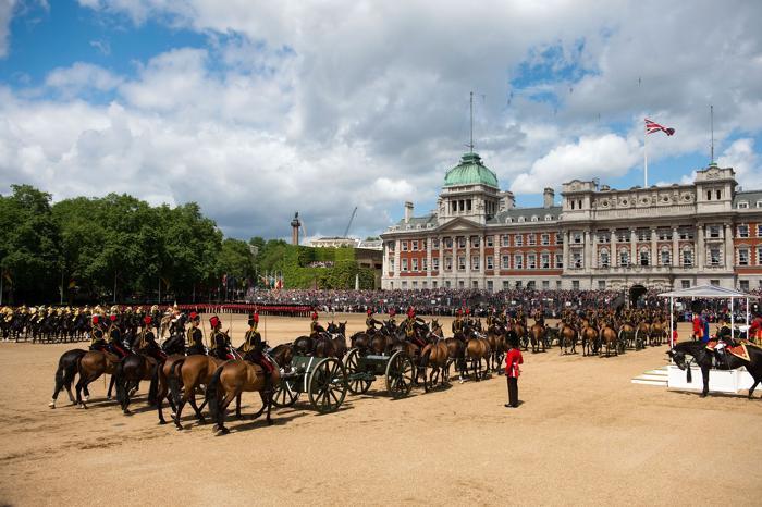 Церемония празднования дня рождения королевы Великобритании Елизаветы II. Фото: Bethany Clarke/Getty Images