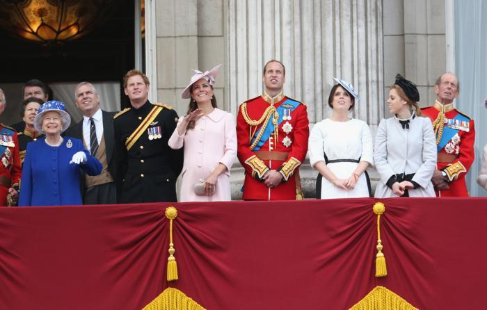 Королевская семья Великобриатнии. Фото: Chris Jackson/Getty Images